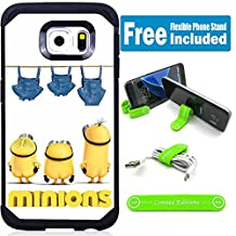 Samsung Galaxy Note 5 Hybrid Armor Defender Case Cover with Flexible Phone Stand - Minions Pants Hanging