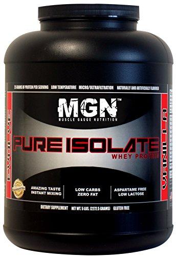 MGN Whey Protein Isolate 5lb Vanilla