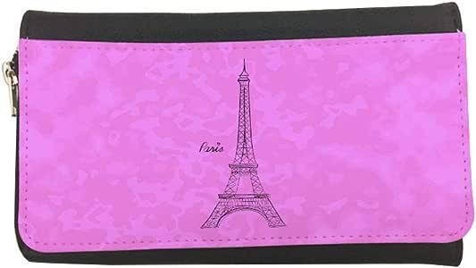 محفظة مصنوعة من الجلد بتصميم معالم عالمية - برج ايفل