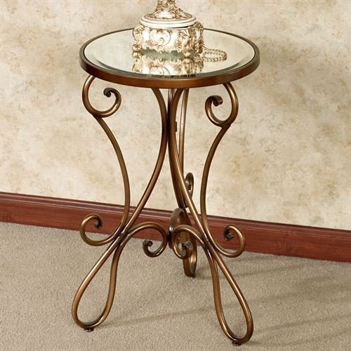 Touch of Class Domezio Accent Table Bronze by Touch of Class