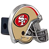 tow hitch cover sf - NFL San Francisco 49ers Helmet Trailer Hitch Cover