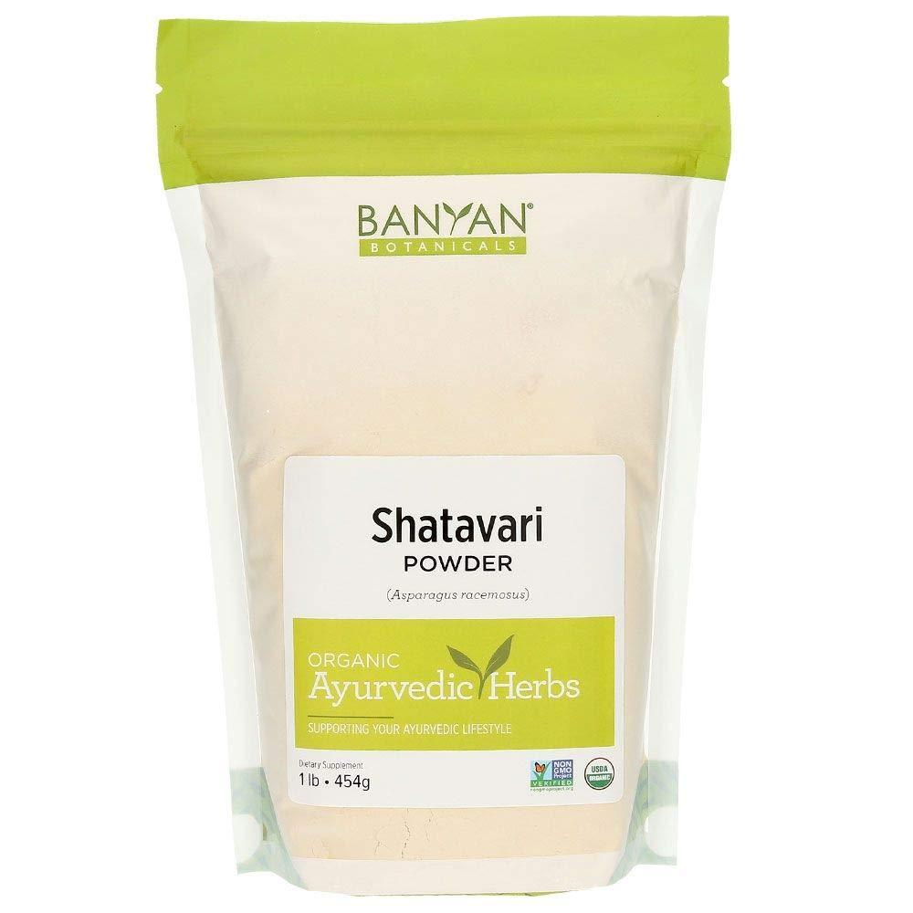Banyan Botanicals Organic Shatavari Powder – Asparagus racemosus – Ayurvedic Herb for Vata & Pitta, Balanced Female…