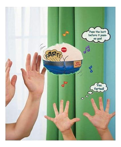 Amazon.com: Pass the Gas Fart Game Toy- Regalo de cumpleaños ...