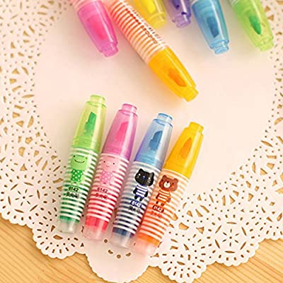 Acoolstore 6pcs/Set Baby Drawing Crayons Colorful Paint Pen Children Kids Crayons Painting Supplies Gift Baby Learning Drawing Toys: Toys & Games