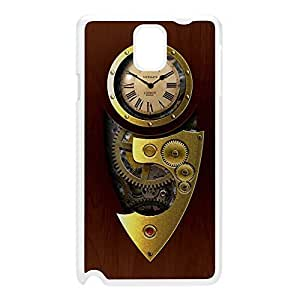Retro Gadgets - Steampunk White Hard Plastic Case for Galaxy Note 3 by DevilleArt + FREE Crystal Clear Screen Protector