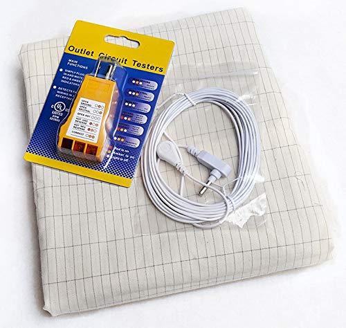 (Earthing Grounding Pillow Case Kit)