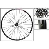 Alex DP20 29er Disc Front Wheel, QR, NMSW, Black