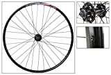Alex DP20 29er Disc Front Wheel, QR, NMSW, Black