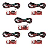 CHENBO(TM) 5 x Endstop Mechanical Limit Switches 3D Printer Switch for RAMPS 1.4