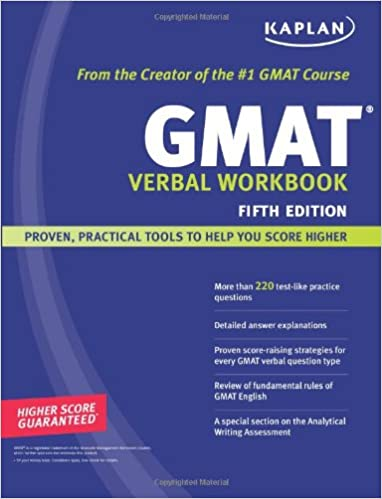 Kaplan GMAT Verbal Workbook
