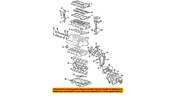 General Motors 12598014 Engine Valve Cover Gasket
