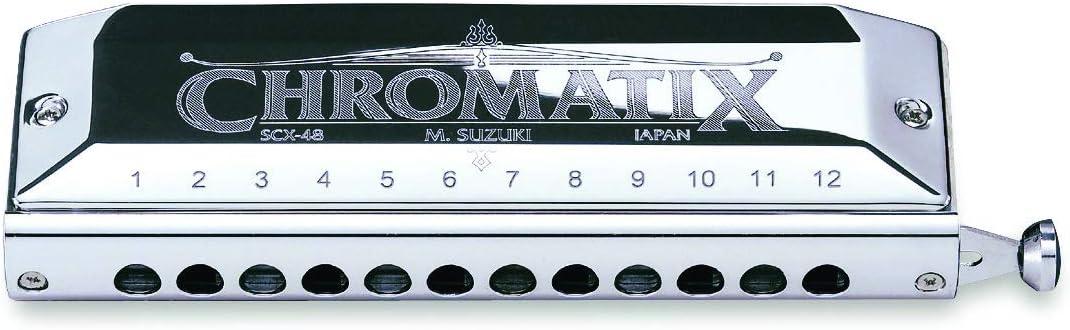 Suzuki Scx-48 Chromatix Series Harmonica C 12 Hole