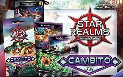 Devir Star Realms - GAMBITO (Castellano) (sobre): Amazon.es: Juguetes y juegos