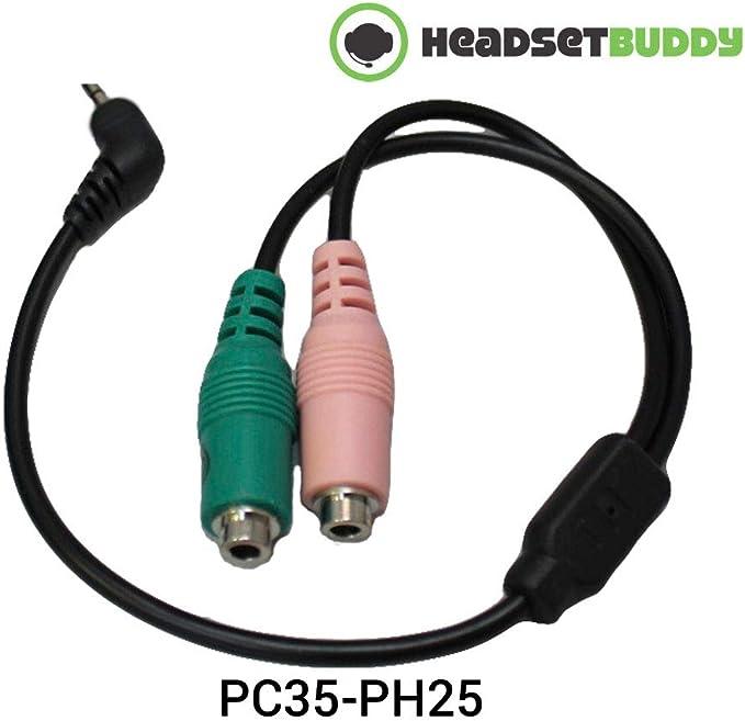 Headset Buddy PC Headset to CISCO Phone