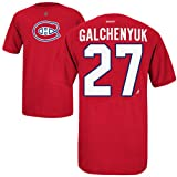 Montreal Canadiens Alex Galchenyuk Reebok NHL Player Name & Number (XL)