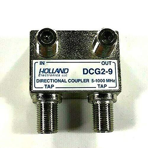 Solderback Splitter - Holland Electronics Wall Tap Directional Coupler Splitter 2 Output DCG2 Series (9db)