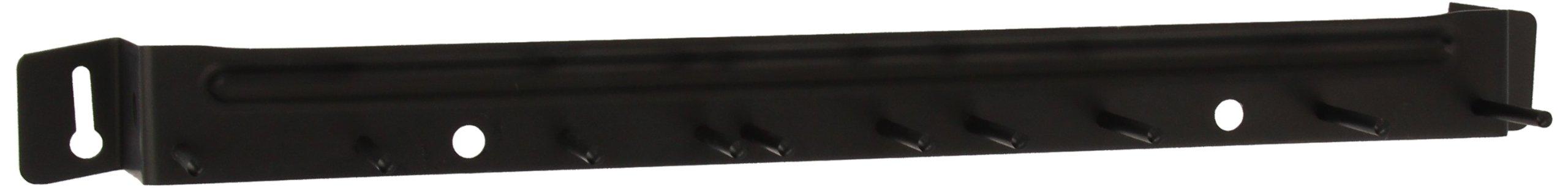Carlisle 4073503 Black 17-Inch Sparta Spectrum Aluminum Brush Rack (Case of 12)