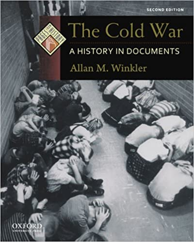 Amazon Com The Cold War A History In Documents Pages From