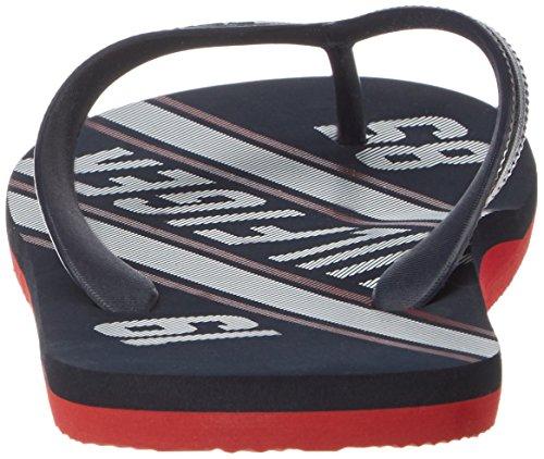 Tommy Hilfiger Men's F2285loyd 14r Open Toe Sandals Blue (Midnight) Ej1Rv