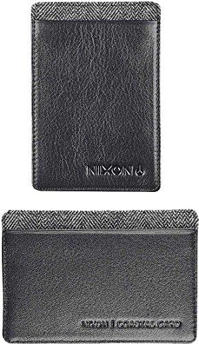 Nixon Coastal Bi-Fold Card Wallet, Size: O/S, Color: Black