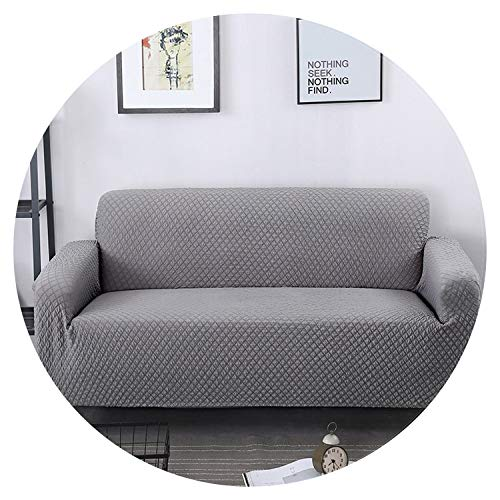 Universal Size Stretch Sofa Cover Printing Flower Sofa Covers slipcovers Couch Cover Furniture,Grey,2 Seat 145-185cm
