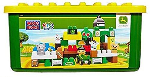 Mega Bloks First Builders John Deere Big Barnyard Set Bui...