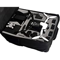 Professional backpack fits for Parrot Bebop 2 with Sky Controller 2 and googles made by MC-CASES - Excellent Cases - THE ORIGINAL (Parrot Bebop 2 FPV, colour camouflage)