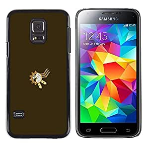 LECELL--Funda protectora / Cubierta / Piel For Samsung Galaxy S5 Mini, SM-G800 -- Steampunk sproket --