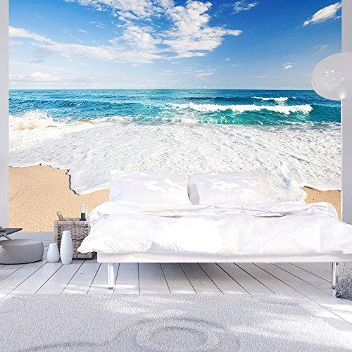 Vlies Fototapete 300x210 cm ! Top - Tapete - Wandbilder XXL - Wandbild - Bild - Fototapeten - Tapeten - Wandtapete - Wand - Strand Meer Natur c-B-0035-a-a