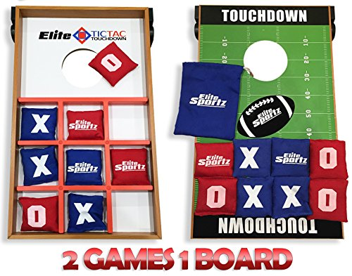 Junior-Cornhole-Bean-Bag-Toss-Game-Great-for-Outside-Yard-Kids-Games-Tic-Tac-Toe-and-Cornhole-Party-Games-for-Kids