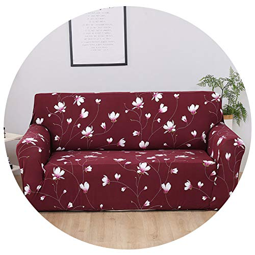 - Pocket shop-Slipcovers Sofa-Slipcover Tight Wrap All-Inclusive Slip-Resistant Sectional Elastic Full Corner Sofa Cover L Shaped Sofa 1/2/3/4 Seater 1Pc,Color 11,1Seater 90-140Cm