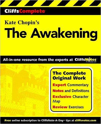 Cliffnotes the awakening