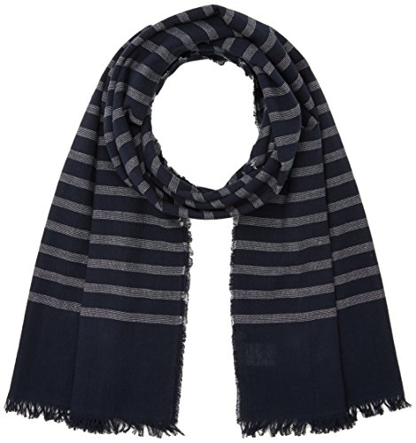 Tommy Hilfiger Montauk Stp Scarf, Echarpe Homme, Bleu (Navy Blazer), Taille Unique (Taille Fabricant: OS)