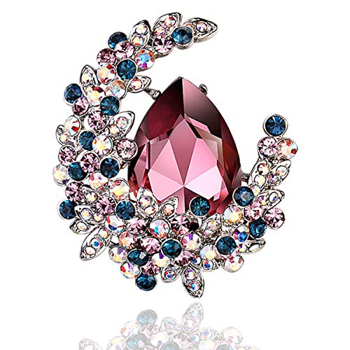 RAINBOW BOX Brooches for Women, ...