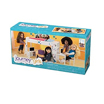 Journey Girls Classic 18 inch Doll Bedroom Set