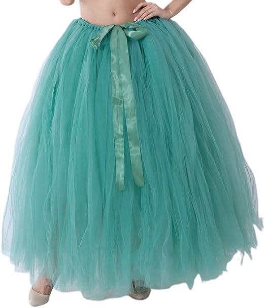 Falda tutú esponjosa, linda falda de tul para adultos, falda de ...