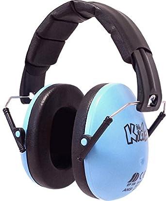 EDZ Kidz - Auriculares con cancelación de ruido para niños (Azul)