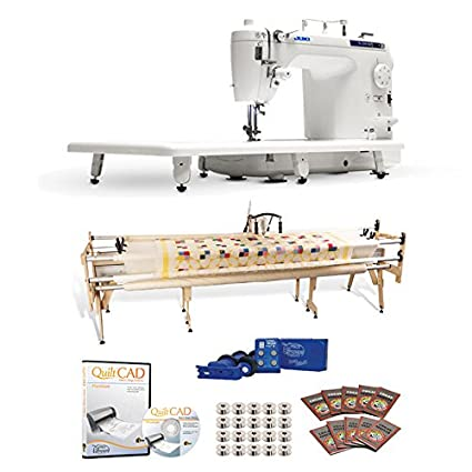 Amazon Juki TL40Q Long Arm Gracie King Frame Stitch Fascinating Juki Sewing Machine Stitch Regulator