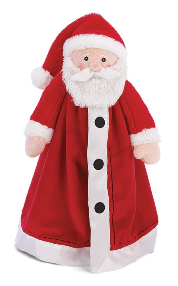 Lovey 15 Bearington Baby Santa Snuggler Christmas Plush Santa Security Blanket