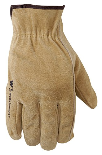 Wells Lamont Leather Work Gloves, Suede Cowhide, Extra Large (1012XL) (Suede Unisex Glove)