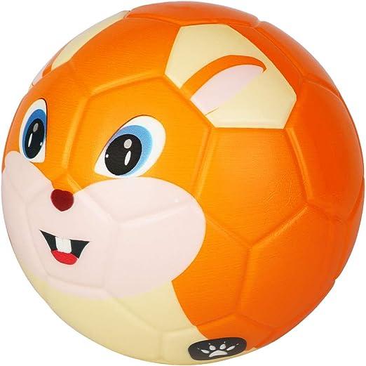 BORPEIN - Pelota de fútbol de 6 Pulgadas, diseño de Animales ...