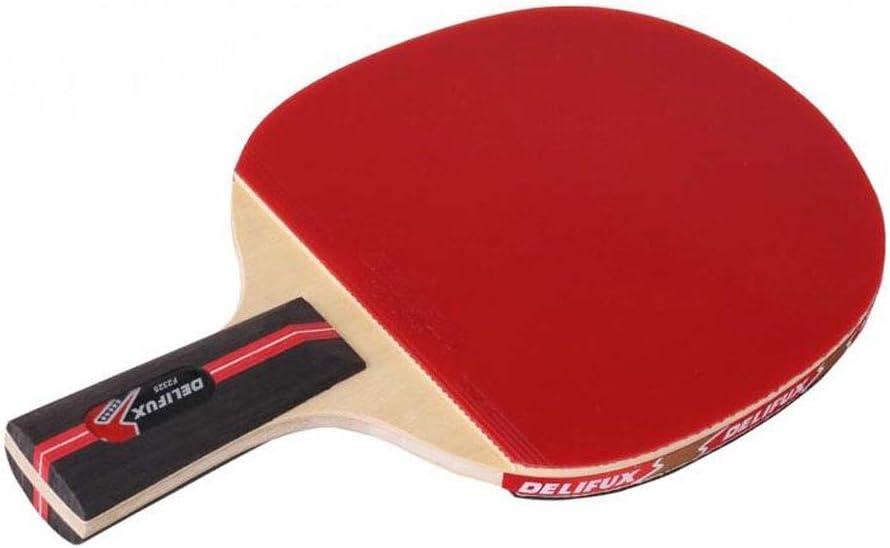 KUANDARPP Raqueta De Tenis De Mesa Ping Pong La Elasticidad De Goma Especial para Una Sola Raqueta Es Adecuada para Principiantes Y Profesionales De La Familia, Red
