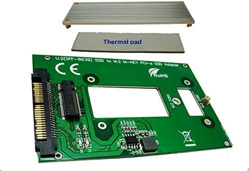 M.2 PCIe SSD Adapter as U.2 SFF-8639 SSD