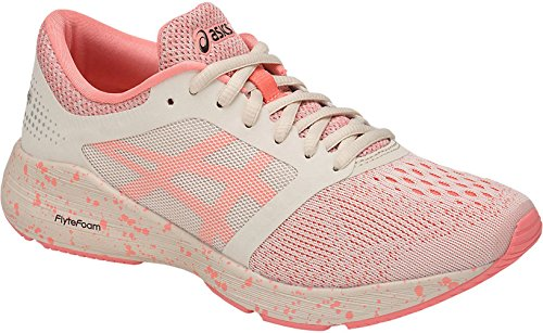 ASICS Women's Roadhawk FF SP Running Shoe Cherry/Blossom/Birch 7