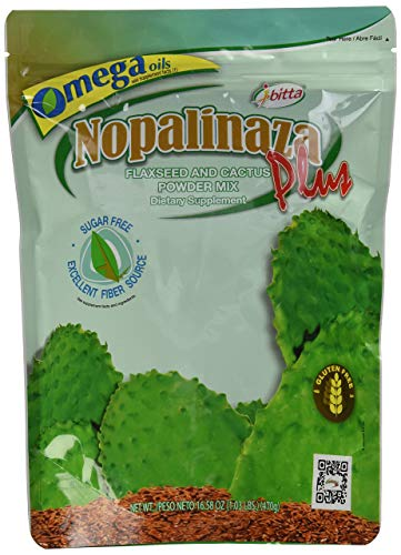 - NOPALINAZA Fiber Cactus Flax, 16.57 Ounce