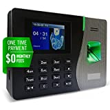 Timedox Silver Plus $0 Monthly Fee | Fingerprint Proximity Time Clock For Employees | Download Data Automatically | Dynamic Reports | Requires Pro Suite Software (ONE-TIME Payment) | Lifetime Upgrade