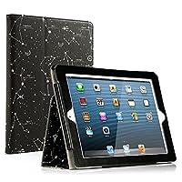 RUBAN iPad 2/3/4 Case - Folio Stand Smart Cover Case for Apple iPad 2/iPad 3/iPad 4 with Retina Display with Auto Wake/Sleep Feature by RUBAN