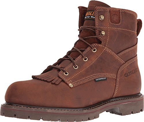 Men's Carolina 6 Inch Waterproof Lug Sole Boot