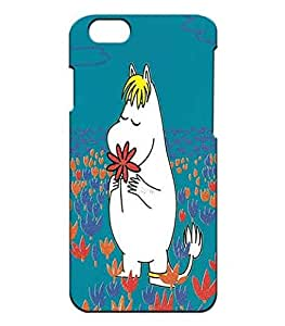 Customized Moomin Disney Phone Shell Cover, Iphone 6 6s 4.7 Inch Solid Carcasa Cool Pattern Ultra Thin Para Women