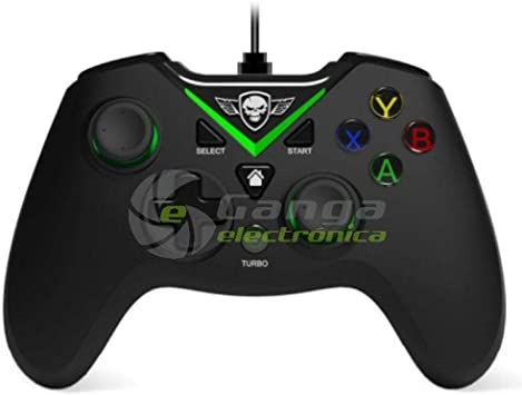Spirit Gamepad of Gamer PGX Wired - 12 Botones: Spirit: Amazon ...